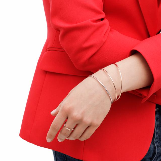 lucky one bijoux bracelet jonc or femme 18 carats