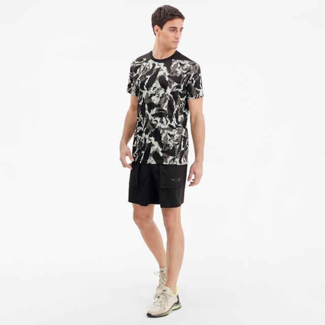 t shirt puma x first mile camo training pour homme 2