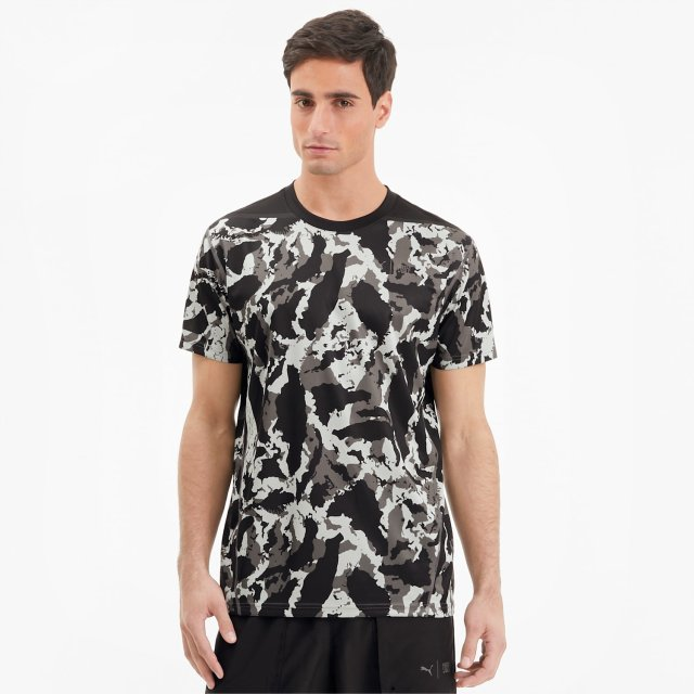 t shirt puma x first mile camo training pour homme