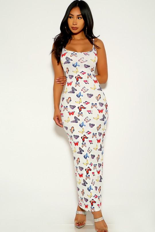 clothing dress kk89c 4025 dwhite